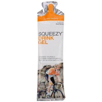 suplement SQUEEZY DRINK GEL malina / 60 ml