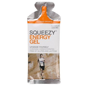suplement SQUEEZY ENERGY GEL banan / 33g